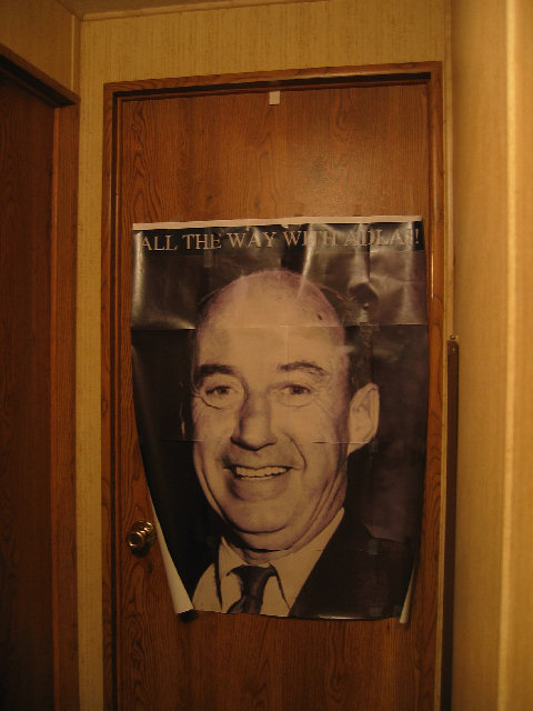 The Giant Smiling Face of Adlai Stevenson