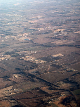 Airplane's eye view