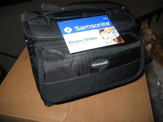A Samsonite Camera Bag